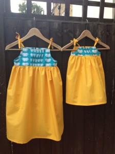 Lili pond Saudade Dresses front